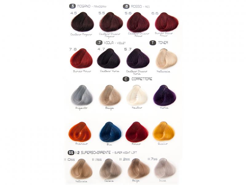 Crema Colorante Zero Ppd Colore E Tecnici Vanity Care