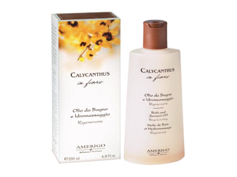 Olio da bagno e idromassaggio calycanthus in fiore cura for Bagno d olio